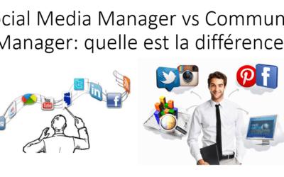 Social Media Manager vs Community Manager: quelle est la différence?
