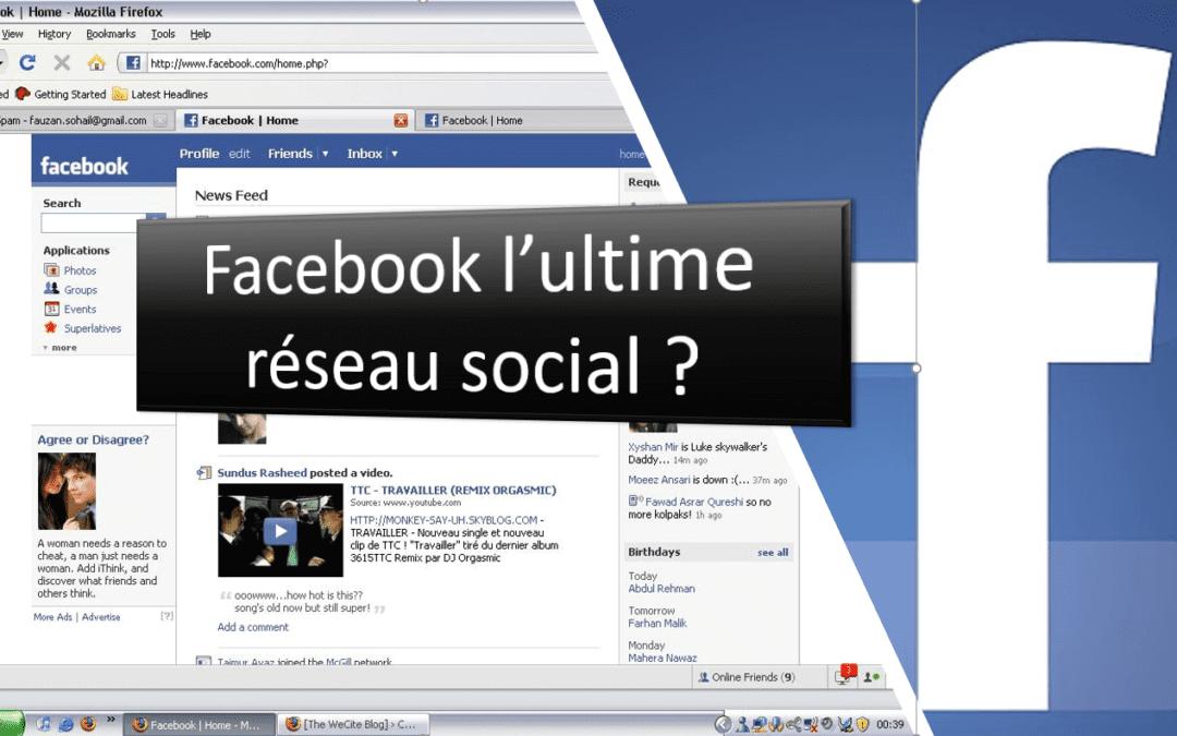 Facebook est-il l'ultime réseau social pour le community management ?